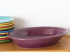 Fiesta® HEATHER - Post 86 Deep Oval Serving Bowl - Discontinued Item