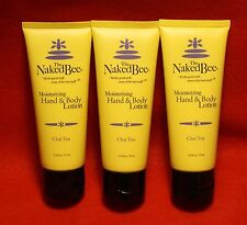 The Naked Bee 3-2.25 oz Moisturizing Hand and Body Lotion in Chai Tea