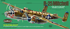 B-25 Mitchell 1/32nd Scale Model Kit# 805 from Guillow