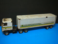 ERTL John Deere Parts Express Semi Truck Tractor & Trailer 1/25 Scale #5533