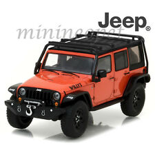 GREENLIGHT 86088 2015 JEEP WRANGLER UNLIMITED WILLY'S WHEELER EDITION 1/43 ORANG