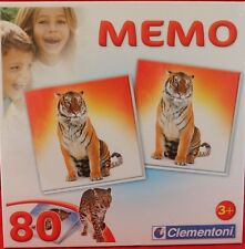 **MEMORY**Raubtiere, 80 tlg.**in einem Spielkarton**neu und unbespielt.