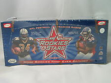 1999 LEAF ROOKIES AND STARS NFL FOOTBALL HOBBY BOX
