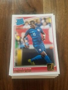 2018-19 Panini Donruss Soccer RATED ROOKIE -Make Your Pick-