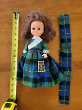 """Vintage Wellwood Selkirk 12"""" Doll Made in Scotland red hair with tags and hat"""