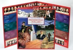 Littleton NH03561 Presidential Dollar 2007-2015 Complete Set P&D Folder