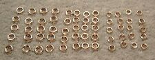 1930's 40's New Nickel Plated interior Screw Cupped Trim Washers Car Truck