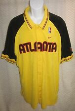 Atlanta Hawks Warm-Up Jersey size adult Medium by NIKE '74