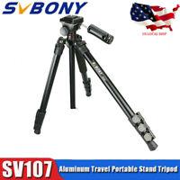 SV107 Aluminum Travel Portable Stand Tripod For DSLR Camera&Telescope US Local