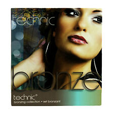 Colección De Bronce Bronceado Gift Set Technic Maquillaje Contorno Cepillo Bronzer Kit