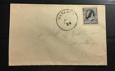US Cover Napoleon Cachet Postmark Name After Battle Of Marengo.