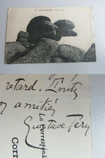 Journaliste Gustave Téry (1870-1928): Carte Postale Ile De Bréhat 1908