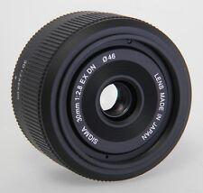 Sigma 30 mm F/2.8 EX DN Objektiv MFT  ** Aussteller ** Händler ** neuwertig!