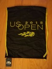 Rare Tennis Us Open 2015 Tote Bag w string Souvenirs Backpack Travel Bag