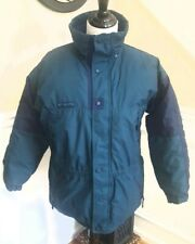 Columbia Down Boy Youth Puffer Jacket Coat Two tone blue ~Size XL 18-20~NEW