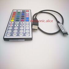 USB RGB Controller 5V 24V 44Keys IR Remote Controller Led Dimmer for 5V RGB Led