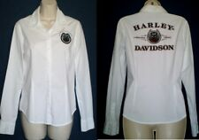 Harley-Davidson LS Button 105th Anniversary Embroidered Shirt 96123-08VMW SMALL
