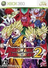 Used Xbox 360 Dragon Ball Blast  2 MICROSOFT JAPAN JP JAPANESE JAPONAIS IMPORT