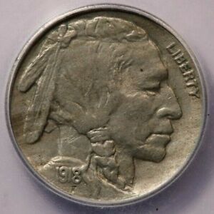 1918-P 1918 Buffalo Nickel ICG AU58