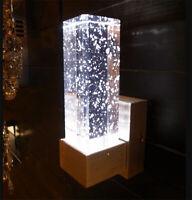 LED Bubble Crystal Wall Lamp Bathroom Vanity Lighting Corridor Wall Sconce Light