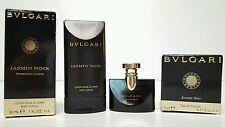 Jasmin Noir By BVLGARI 1.0 oz 30 ml BODY LOTION + .17 oz EAU DE PARFUM NEW BOXED