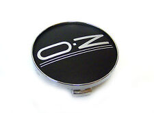 1x OZ Racing Wheel Center Cap Black/Hrome, 76mm outside 81310569