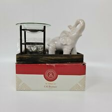 White Elephant Oil Burner Size: 5X8 inches