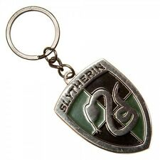 Slytherin - Harry Potter House Crest Metal Keychain - New Bioworld Cursed Child