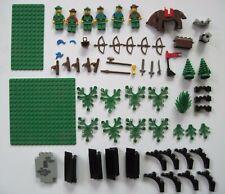 Lego - Vintage Castle Lot - Minifigures - Weapons - Arches + more