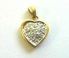 Heart Yellow Gold Fine Diamond Necklaces & Pendants