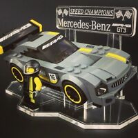 Display Stand For LEGO Speed Champions: Mercedes Benz AMG GT3 (75877)