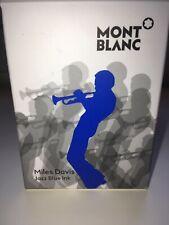"""Montblanc Miles Davis Ink """"Jazz Blue"""" 30 ml Limited Edition"""