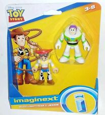 "New IMAGINEXT DISNEY PIXAR TOY STORY BUZZ LIGHTYEAR & JESSIE 3"" Figures 4"
