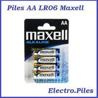 Piles batons AA LR06 de marque Maxell, expédition rapide et gratuite !