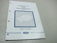 FORD FOCUS 1998 Technisches Service Training 00/270