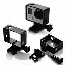 2PCS Frame Mount Standard Protective Housing Case For GoPro Go Pro HD Hero 4 3+