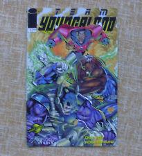 Comic, Team Youngblood, nº 1, Extreme Studios, Image, World Comics, Chap Yaep