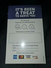 American Express Dining Survey Cards (100)