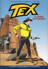 TEX. IL TOTEM MISTERIOSO - I FUMETTI A COLORI DI REPUBBLICA/ESPRESSO N. 1/2007