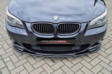 CUP Spoilerlippe für 5er BMW M5 E60 E61 M-Paket 03-10 Front Schwert Ansatz IN