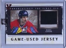 2014-15 ITG Superlative Vault Denis Savard The First Six Jersey Gold (1/1)