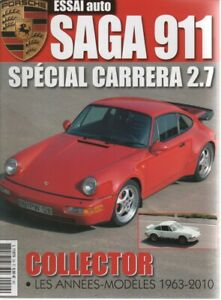 ESSAI AUTO HS 29 PORSCHE 911 1963 2010 - 98 PAGES - PORSCHE 911 CARRERA RS 2.7