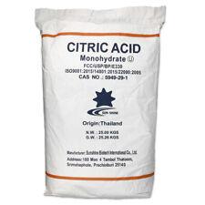 Acide Citrique Poudre 25 kg Sac /Monohydrate /Hausmittel/ Soin Du Corps