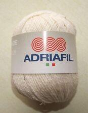 Pelote de laine ADRIAFIL PROVENZA écru n° 81 61% coton 39% lin