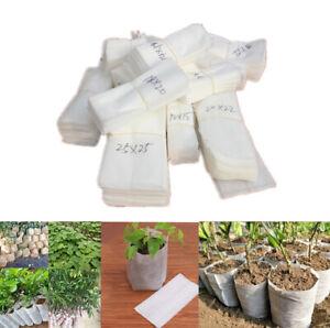 Plant Nursery Bag Non-woven Fabric Biodegradable Eco-Friendly Flower Growing Pot