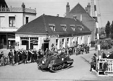 1940-BEF-British Expeditionary Force Crosses the Border into Belgium at Herseaux