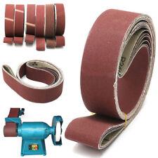 2''x 72'' Sanding Abrasive Belts180/240/320/400/600/800 Grit For Sander Grinding
