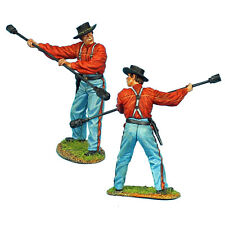 First Legion: ACW067b Union Artillery Crew with Sponge/Rammer - Slouch Hat
