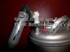 Co2 Cornelius Keg Charger with Ball Lock Gas Fitting, Co2 Keg Charger