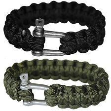 PARACORD Survival Armband SPECIAL Bracelet Trekking Miltär Überlebens Band 550